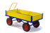 Turntable Platform Trailer Truck With Drop Down Solid Sides