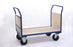 Double Wooden End Handle Platform Trolley