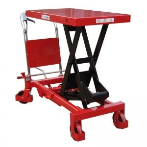Heavy Duty Single Manual Scissor Lift Table 1000KG