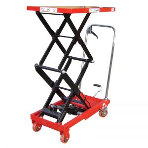 Double Manual Scissor Lift Table 150KG
