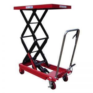 Double Manual Scissor Lift Table 350KG