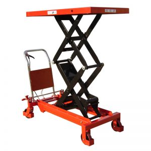 Double Manual Scissor Lift Table 800KG