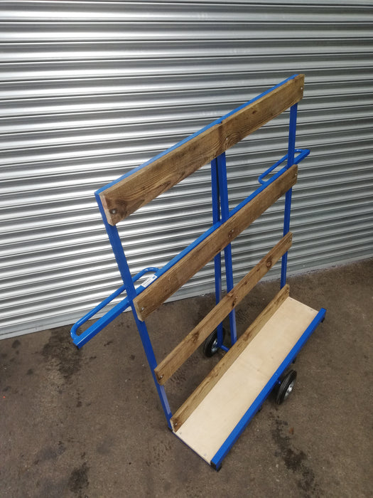 Two Wheel Wooden Balance Board Trolley