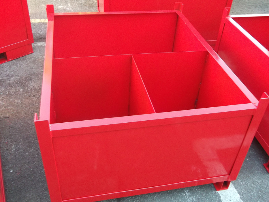 Scrap Bin Stillage with Dividers