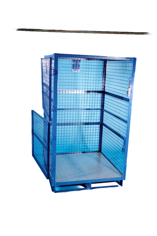 Heavy Duty Four Sided Forkliftable Parcel Cage