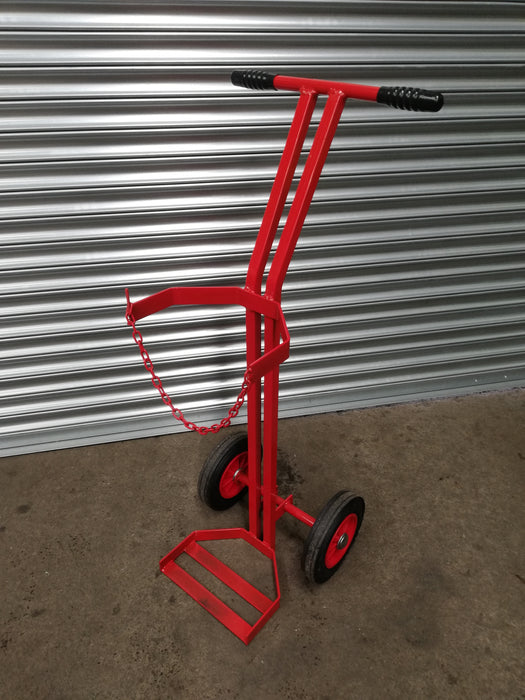Large Single Cylinder Gas Trolley