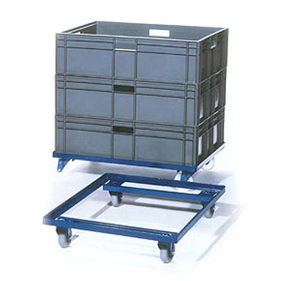 Large Tote Crate Dolly Trolley