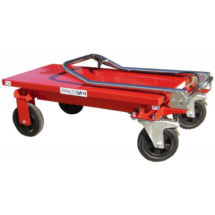 Single Manual Scissor Lift Table 150KG