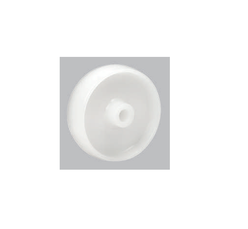 White Polypropylene Wheel | 75 - 125mm Wheel