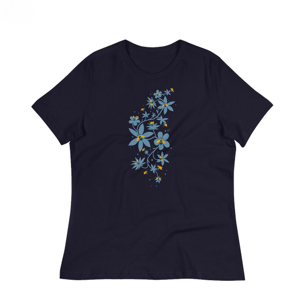 Rusty Patch Bumblebee navy t shirt