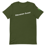 Biota Speciesism Sucks T-shirt