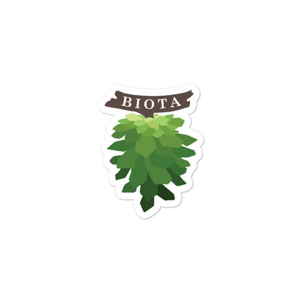 Biota Logo Sticker