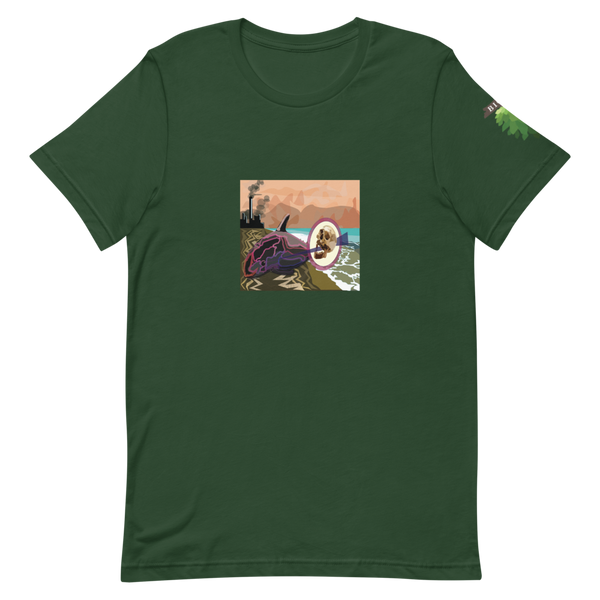 vaquita t-shirt green