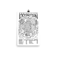 End Of Life: Extinction Tour Poster 12x18