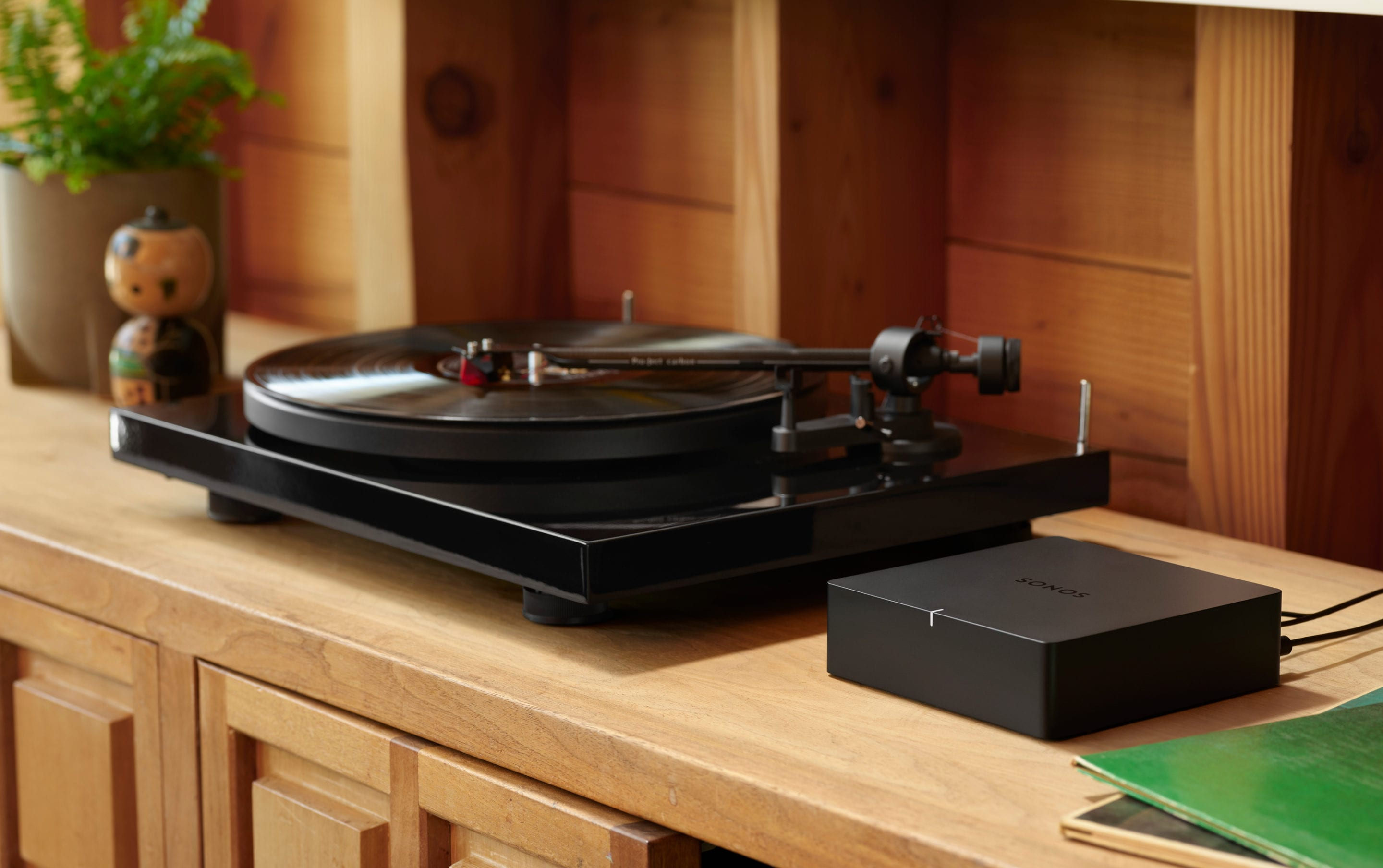 Sonos Connect to turntable
