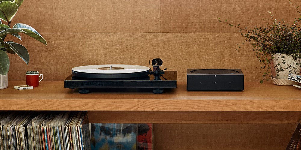 Sonos Amp with Turntable
