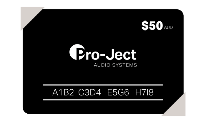 Pro-Ject gift card