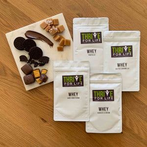 WHEY PROTEIN CONCENTRATE SAMPLER PACK