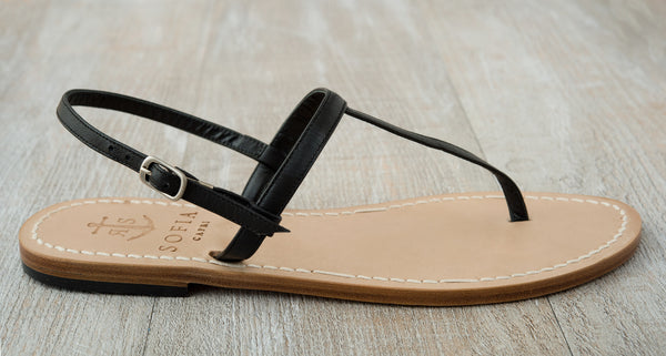 T-bar capri sandals | Sofia Capri Sandals