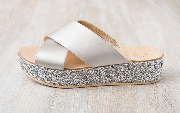 Via Cesina Wedge - Light Grey
