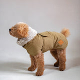 Dog jacket pony eskimony beige