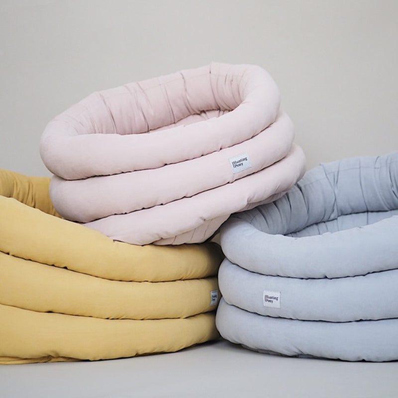 Dog bed Pony cloud yellow