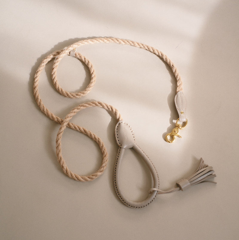 Dog leash Country Pony beige
