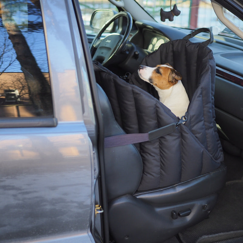 Car seat for dogs black