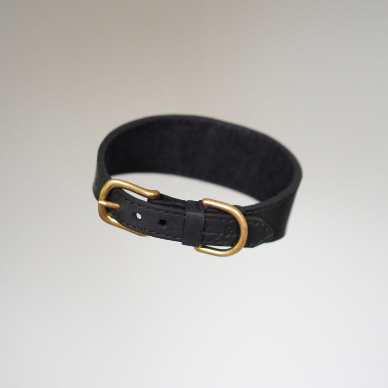 Dog collar Herring black
