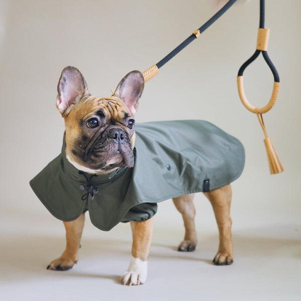 Dog raincoat Pony parasoly khaki