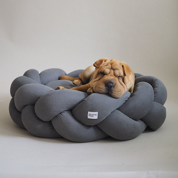 Dog bed Pony kolosony dark gray