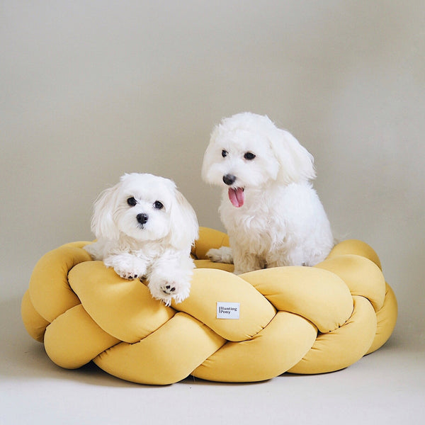 Dog bed Pony kolosony yellow