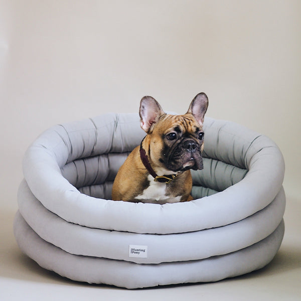 Dog bed Pony cloud gray