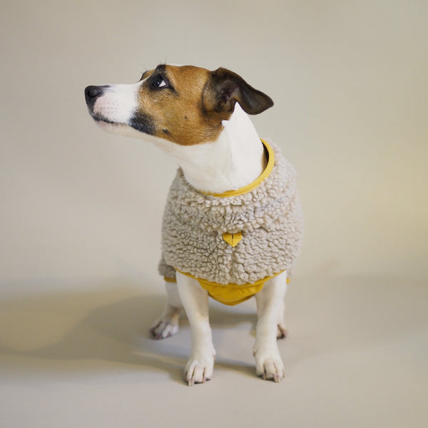 Dog vest Pony lambony yellow