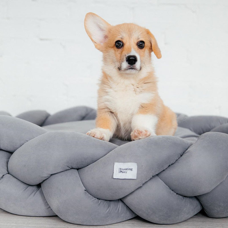 Dog bed Pony kolosony gray