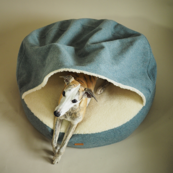 Dog bed Pony-Burrow sea-wave color
