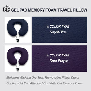 BLS Gel Dough Travel Pillow