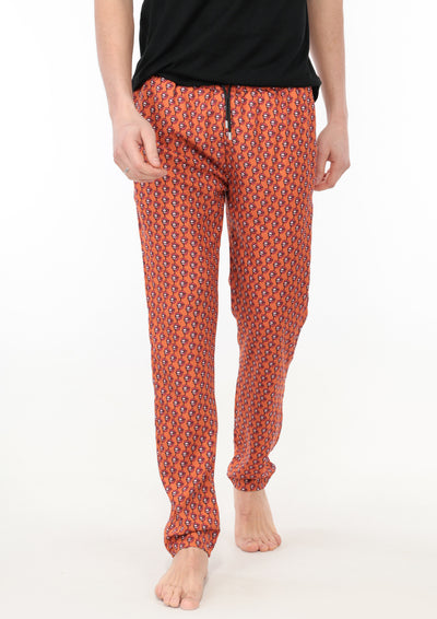 le boubou elton pant luxury loungewear men front