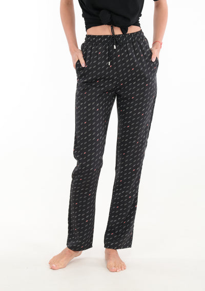 le-boubou-gordon-pant-luxury-loungewear-woman-front