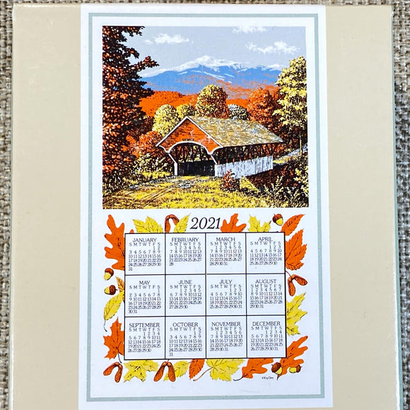 Calendar-Towels-Fall-Covered-Bridge-close-up.jpg