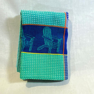 Housewares--Dish-Towel-turquoise-_-blue-Adirondack-chairs-folded.jpg
