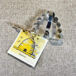 Beehive Cookie Cutter with Recipe Card