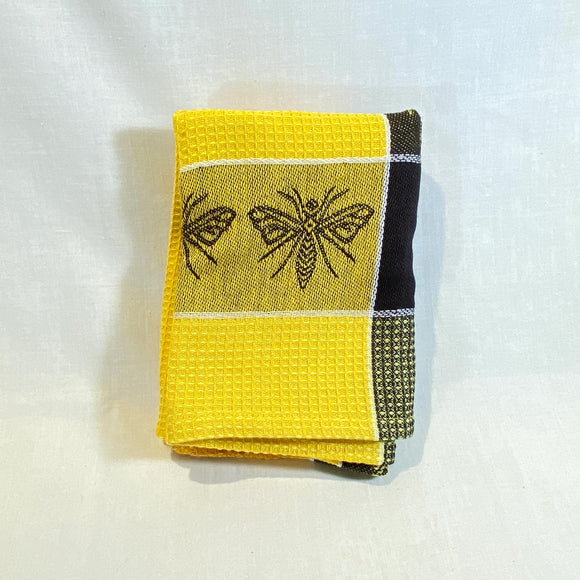 Housewares-Dish-Towel-Bee-yellow-_-black-folded.jpg