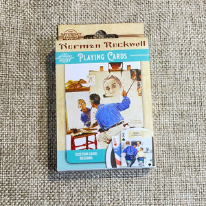 Norman Rockwell Playing Cards