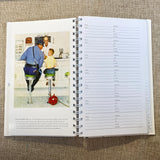 Norman Rockwell Address Book