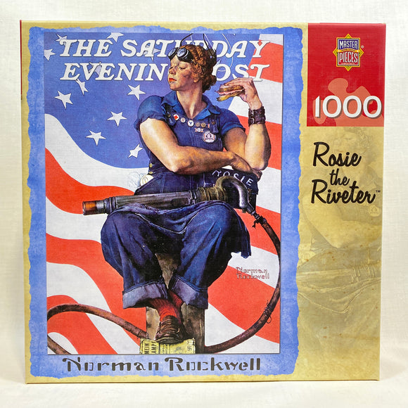Norman Rockwell Rosie the Riveter Puzzle