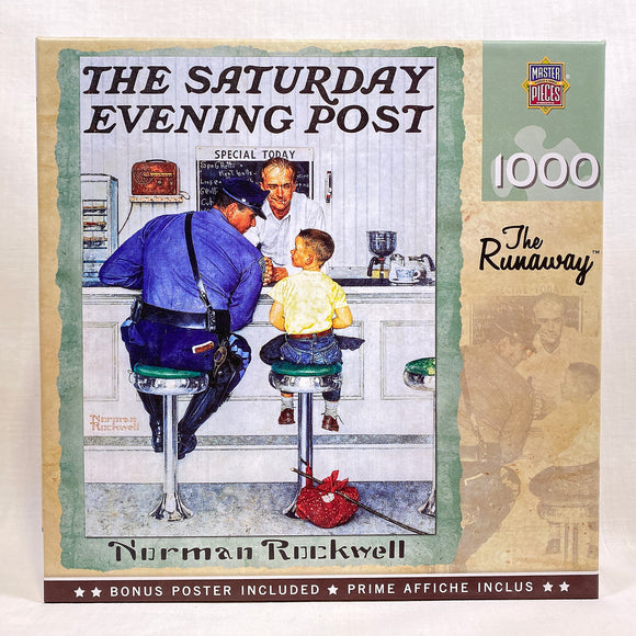 Norman Rockwell The Runaway Puzzle