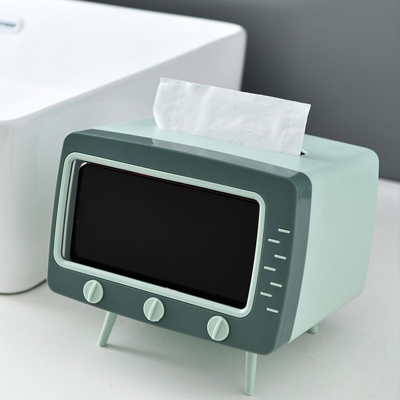 2-in-1 TV tissue box