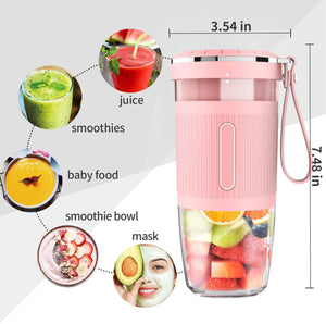 DIY Portable Multifunctional Blender