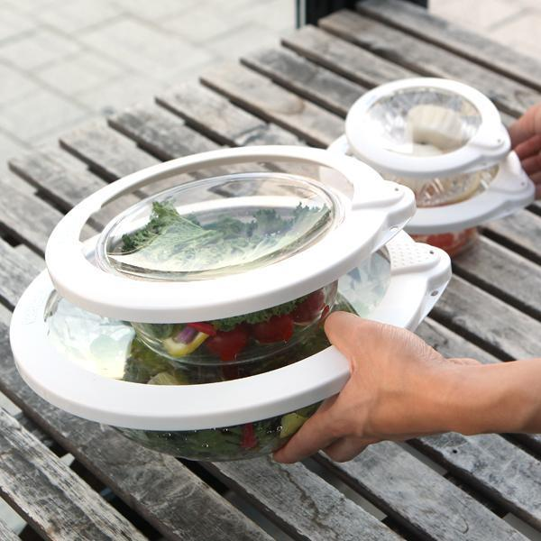 Reusable Vacuum Seal Food Cover Set